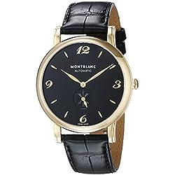 Montblanc Men's 107340 Star Analog Display Swiss Automatic Black Watch