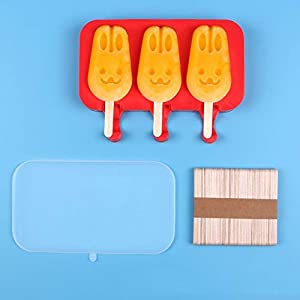 ZASEA Home Mini Popsicle Gelato della Muffa for Bambini Realizzato in Silicone Gelato Artigianale Popsicle Sorbetto… 8 spesavip