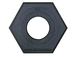 Work Area Protection CB-16 Rubber Channelizer Cone Base, 2.4\