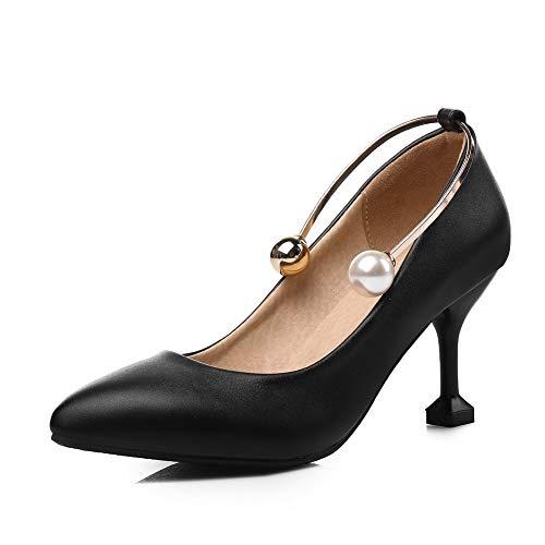 Noir Noir 5 EU Compensées Sandales 36 BalaMasa APL10660 Femme xnzwTX6