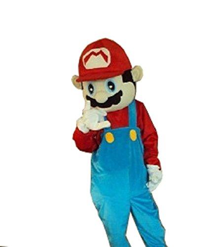 Costumes Mascot Custom Canada (Cartoon mascot Costume Super Mario adult fancy)
