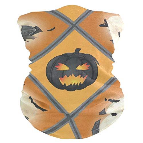 Halloween Pattern Headband Womens Bandana Mens Balaclava,Neck Warmer,Face Mask,Collars Aliceband