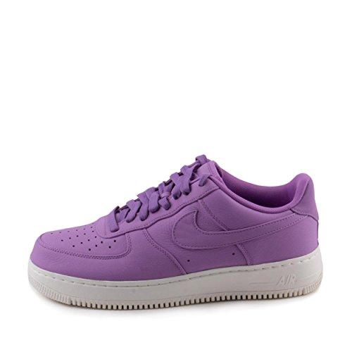 Nike Mens Labb Air Force Ett Lågt Lila / Stardust Läder