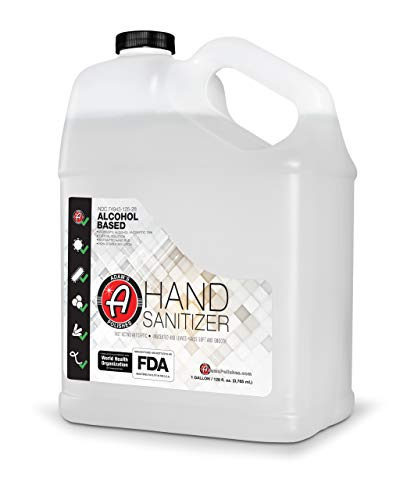 Adam's Hand Sanitizer Gallon – USA Made Hand Sanitizing Spray | 75% Isopropyl Alcohol by Volume, Kills 99.9% of Germs…