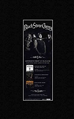BLACK STONE CHERRY - Kentucky's Finest Matted Mini Poster - 30x11cm