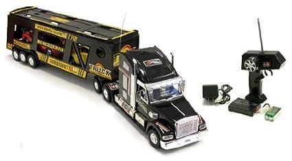 Amazon Com Remote Control Rc Radio Control Semi Tractor Truck 18