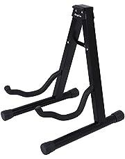 KEPLIN Soporte para guitarra con marco plegable universal para todas las guitarras acústicas y eléctricas