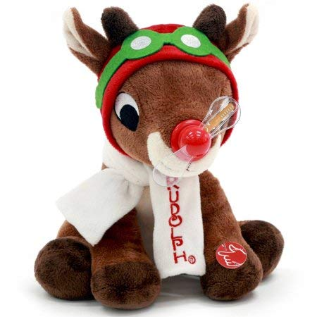 4ec359638cd1 Amazon.com: Dandee International. 11.5 Inch Rudolph The Red Nosed ...