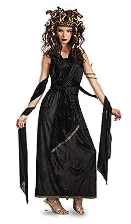 Amazon.com: Medusa Adult Halloween Costume: Clothing