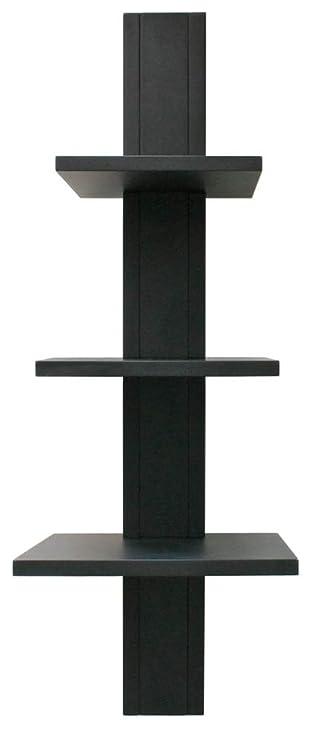 Amazon.com: NeXXt Alton, 3 niveles Estantería de pared, 8 ...