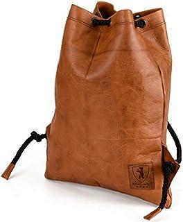 e2a01673462a2 Gym Bag Turnbeutel -Berliner Bags- aus Leder Rucksack Sportbeutel  Turntasche Wasserdicht Damen Herren Vintage