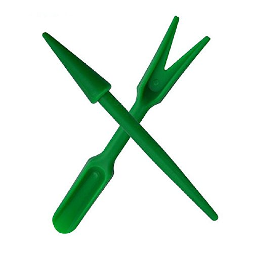 Plastic Dig Seedling Tools Hole Puncher Garden Tools MTS 2pcs by MaxThStore