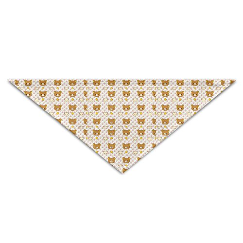 Dog Bibs Dog Saliva Towel Cotton The Bears Triangular Bandage Scarf Accessories For Small Puppy Dogs Pet Dog