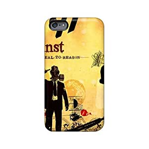 Bumper Cell-phone Hard Cover For Iphone 6plus (ttV12216ozRd) Customized Colorful Rise Against Image