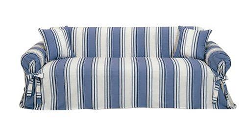 Genial Striped Sofa Slipcovers Blackfridays Co