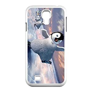 Print Cute Animal Penguin on the ice TPU Protective Durable Cover Shell for SamSung Galaxy S4 I9500 Case-2