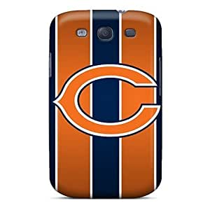 Special Design Back Chicago Bears Phone Case Cover For Galaxy S3 by kobestar