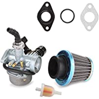 ATV Carburetor PZ19 with Fuel Filter and 35mm Air Filter...