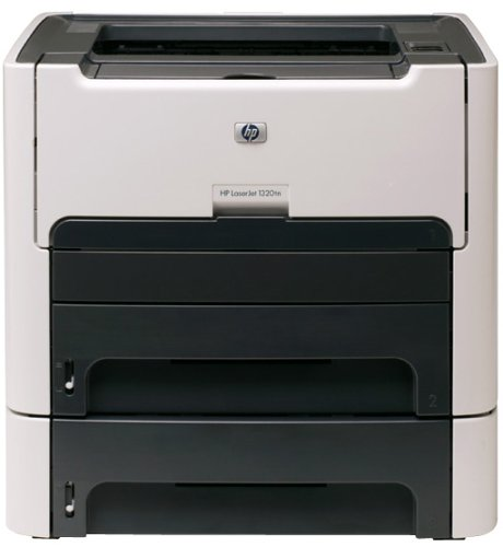 - HP Laserjet 1320tn Monochrome Network Printer with Extra Input Tray