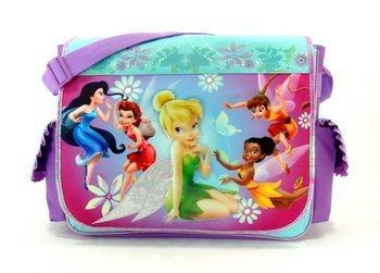 Disney's Fairies Messenger Bag - Tinkerbell Shoulder Bag
