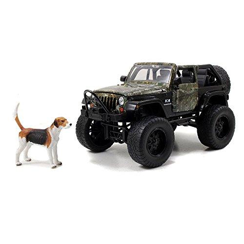 jada-toys-real-tree-1-24-diecast-jeep-wrangler-with-3-hunting-dog-figure