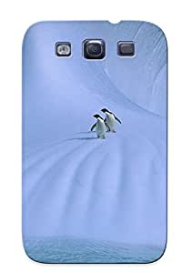 Animal Penguin Case Compatible With Galaxy S3/ Hot Protection Case(best Gift Choice For Lovers)