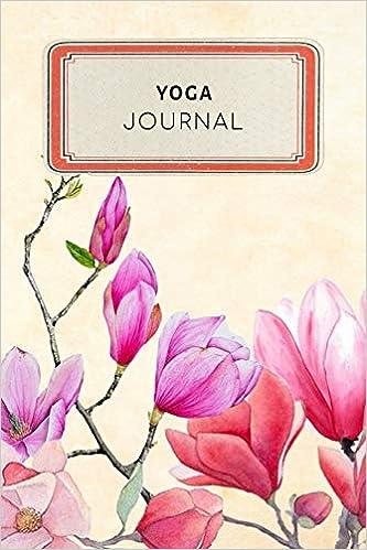 Yoga Journal: Vintage Floral Dotted Grid Bullet Journal ...