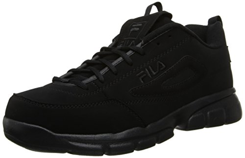 Fila Men's Disruptor SE Training Shoe, Triple Black, 10 M US (Fila Sport Shoes Men)