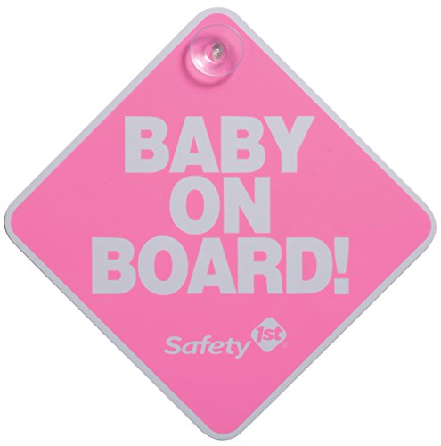 Safety 1st Señal de Bebe a Bordo, color Rosa
