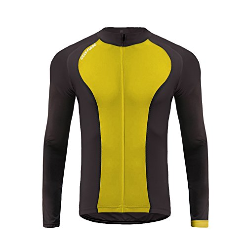 (Uglyfrog 2017 UG10 New Spring&Autumn Outdoor Sports Mens Classic Long Sleeve Cycling Jersey Bicycle Shirt Triathon Clothing)