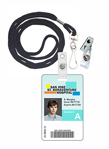 The Good Doctor Shaun Murphy Novelty ID Badge Film Prop for Costume and Cosplay • Halloween and Party Accessories