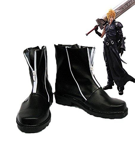 Laatste Fantasy Vii Ff7 Cloud Strijd Cosplay Schoenen Laarzen Op Maat Gemaakt