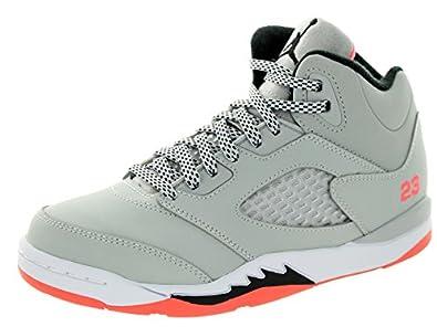 the latest b8a0a 384e5 ... greece 440893 018 air jordan 5 retro gp pre school shoes wolf grey  black hot lava