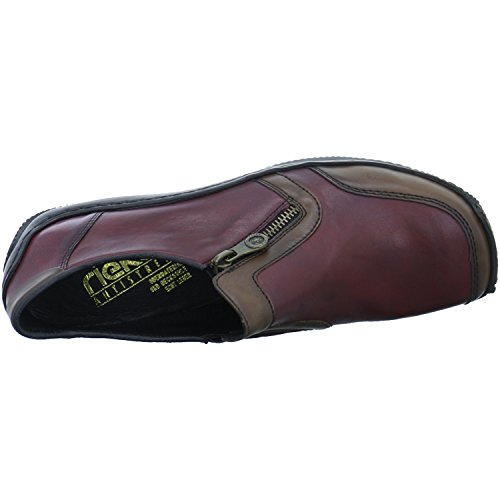 Wine Loafers L1750 26 Teak Wine Women's Rieker Red wvFZFY