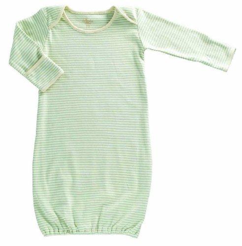 Tadpoles Organic Cotton Sleep Gown, Sage, 0-6 Months Color: Sage Model: bsgpio018