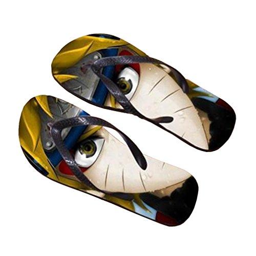 Bromeo Naruto Anime Unisex Beach Wear Flip Flops 341 dDJMnt6