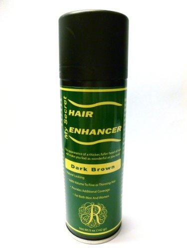 My Secret Hair Enhancer Spray for Fine or Thinning Hair - Dark Brown 5 oz.