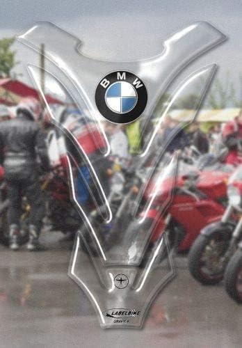 Protector de Depósito Adhesivos Resina 3D Carbono Protector de Depósito Compatible con BMW - Transparente: Amazon.es: Hogar