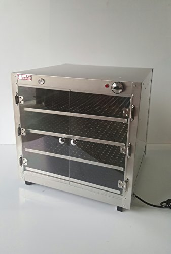 HeatMax 24x24x24 Commercial Hot Box Food Warmer with Acrylic Doors, Pizza Concessions