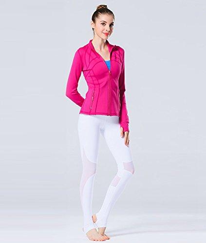 Femmes Tight D Veste Fitness D'Entra Yoga pour Running nement Tops Binhee BIqXOO