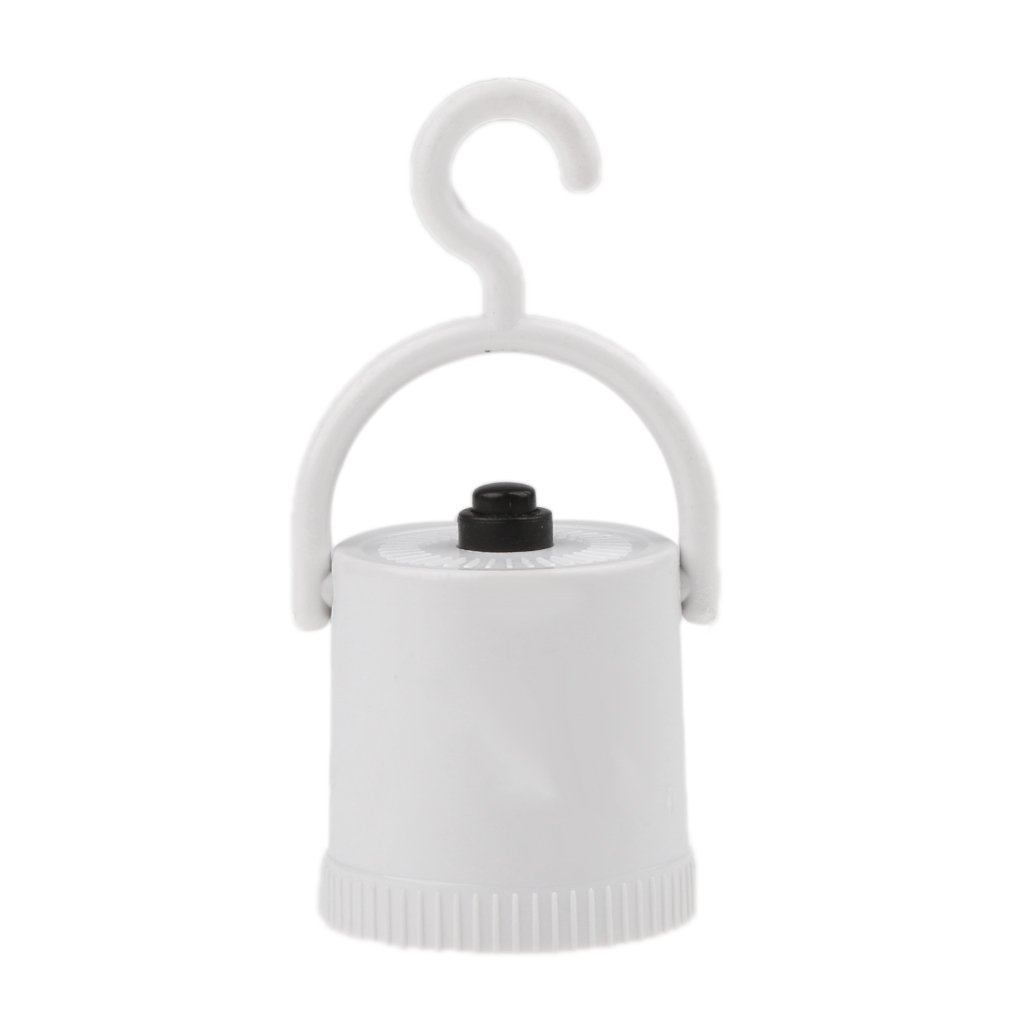 Sharplace Support de Lampe de Plafond Porte-ampoule en Plastique