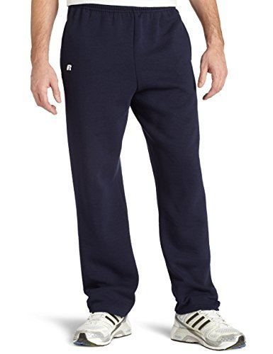 Russell Athletic Men's Dr-Power Fleece Open Bottom Pocket Pant, Navy, XX-Large