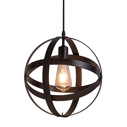 Antique Wrought Iron Pendant Lighting in US - 3