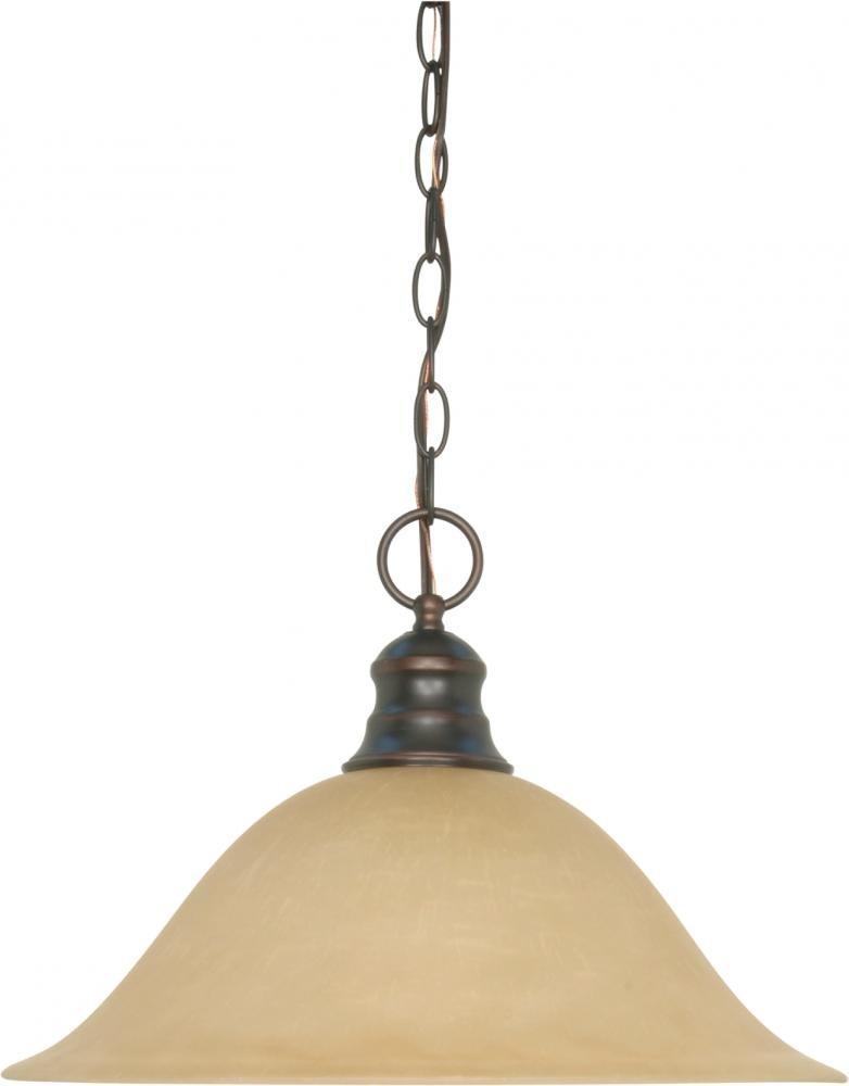 Nuvo Gothamシャンデリア 60/1276 1 Mahogany Bronze / Champagne Glass ハンギングドーム(Hanging Dome) Mahogany Bronze / Champagne Glass B0015MY1XO