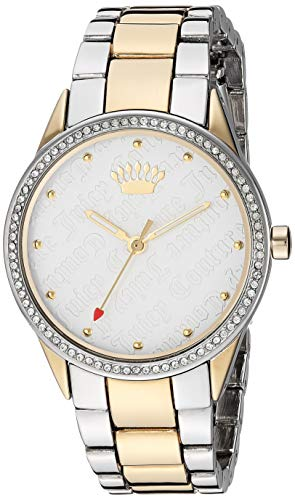 - Juicy Couture Black Label Women's Swarovski Crystal Accented Two-Tone Bracelet Watch