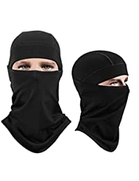 Ohderii Unisex Balaclava - Windproof Ski Face Mask - Cold Weather Face Mask Neck Warmer Tactical Motorcycle Balaclava Hood breathable & Moisture Wicking for Cycling Skiing Motorcycle Snowboard Tactical Hunting Skateboard