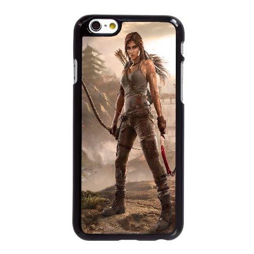 C7F54 tomb raider O8F6PF coque iPhone 6 4.7 pouces cas de couverture de téléphone portable coque noire KP5JYZ3RJ