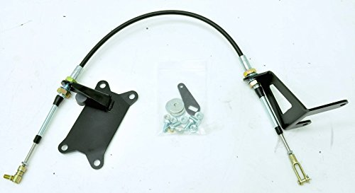 (Transfer Case Cable Shifter Kit for the 231 Jeep Wrangler TJ/LJ 1997-2006)