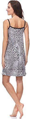 Notte Camicia IF 0113 Donna Italian da Pantera Fashion 2LZ1 xf7nwT4