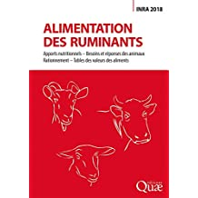 Alimentation des ruminants: Inra 2018 (Hors collection) (French Edition)